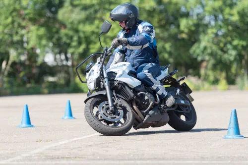 Motorrijbewijspoint Spijkenisse motor rijtest
